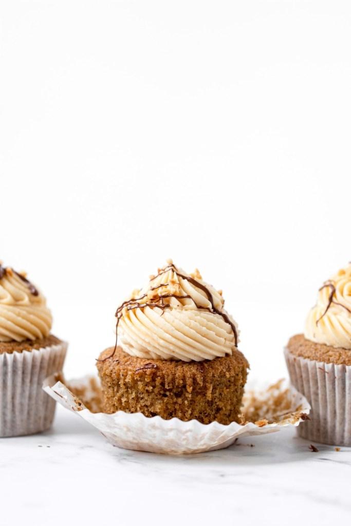 Nutella Mocha Cupcakes